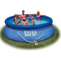 Buy cheap Outdoor Round Inflatable Swimming Pools with filter for home backyard water games product
