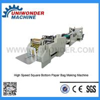 Buy cheap Fully Automatic Square Bottom Paper Bag Making Machine product