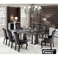 200cm marble top dining table can be seated with 10 person 100999828. Black Bedroom Furniture Sets. Home Design Ideas