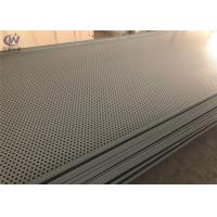 China Custom High Quality Durable Steel Powder Coated Perforated Metal Sheet on sale