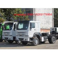 Buy cheap SINOTRUK HOWO ZZ4257S3241W 6x4 Left hand drive 371hp tractor truck product