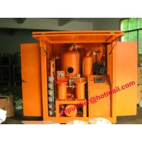 Buy cheap Insulation Oil Filtration Plant, Double Stage Vacuum Transformer Oil Filter Machine PLC weather-proof product