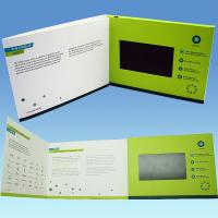 Buy cheap video greeting card  video greeting card module video brochure product
