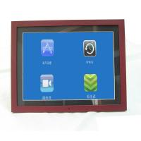Buy cheap Unique 15 Inch Video High Resolution Digital Picture Frame With Wood Frame product