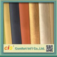 China Shiny Surface Polyurethane Synthetic Leather For Sofa / Car Seat Cover 0.8-1.2mm Thickness on sale