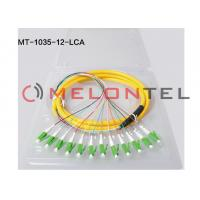 Fiber Optic Patch Network Cable - Fiber Optic for Network Device ,  Patch Panel - Patch Cable 12 core LC APC