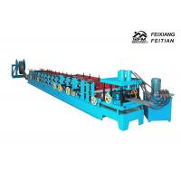 Buy cheap Metal Steel C Purlin Roll Forming Machine 1.5 - 3mm Thickness With 80mm Roller Diameter product