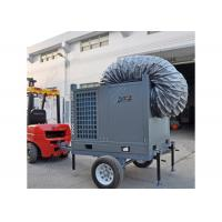 China Trailer Mounted Tent Air Conditioning Systems 10HP Portable Industrial Ducted AC Unit on sale