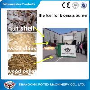 China Energy Saving Biomass Pellets Machine / Wood Pellets Burner For Stove on sale