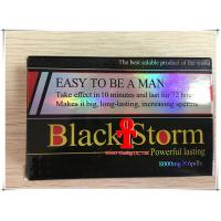 Buy cheap Black Storm Powerful Male Libido Pills , Anti ED Natural Male Enhancement Supplements product