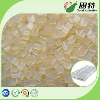 Buy cheap Yellowish Spring Hot Melt Pellets, EVA Hot Melt Glue Adhesive Granule for Pocket Coil Mattress Outer Cotton Packing product