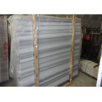 Buy cheap White And Grey Marble Stone Slab Marble Wall Panels For Showers Huge Size product