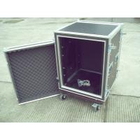 9mm Plywood 22U Rack Flight Case Durable Easily Stored Upright With Reinforced Corners