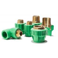 Buy cheap Plastic Material PPR Pipe Fitting Straight Pipe Coupling Joint / Ppr Reducing Straight product