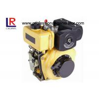 Quality Direct injection Industrial Diesel Engines , Air Cooled Diesel Engines 4 Hp Crankshaft / Camshaft for sale