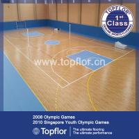 Buy cheap Indoor Multi-purpose Roll Vinyl PVC Sports Flooring for School Gym,Basketball court from Wholesalers