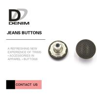 Buy cheap Decorative Fancy Metal Clothing Buttons Replacement For Jacket And Suit product