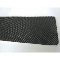 Buy cheap Black Color Pvc Conveyor Belt , Diamond Pattern Treadmill Replacement Belt product