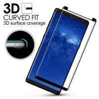 Buy cheap Samsung Note 8 Anti Smudge Privacy Glass Screen Protector 3D Curved Edge product