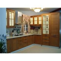 Solid bamboo kitchen cabinet door quality solid bamboo for Bamboo kitchen cabinets for sale
