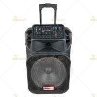 Buy cheap Passive Active Portable Speakers Battery Powered PA System with Wireless Mic from wholesalers