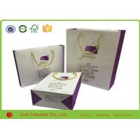 Buy cheap Recyclable Colorful Kraft Paper Bags Wholesale With Handles For Shopping product