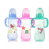 Buy cheap Colored baby feeding bottles with Handles , milk bottle for baby Normal Neck product