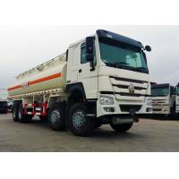 Buy cheap 25 CBM 8x4 Oil Tanker Truck Stainless Steel Material 371HP Diesel Engine product