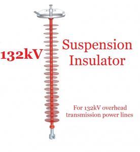 132kV Polymer Suspension Type Insulators Light Weight For Substations