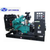 Buy cheap 3 Phase 90kW cummins diesel generator set for home use , Open Type product