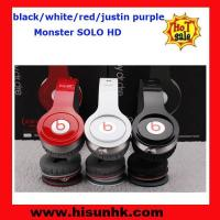 Buy cheap Wholesale cheap Black/red/white/purple monster solo hd headphones by beats dr dre product