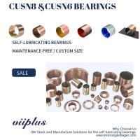 Buy cheap CuSn8P Wrapped Bronze Bearings Bronze Washer & Copper Gasket High Load product