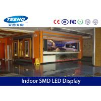 Buy cheap High Resolution P4 Indoor SMD LED Display Advertising , 2200cd / ㎡ , 1 / 8 Scan product