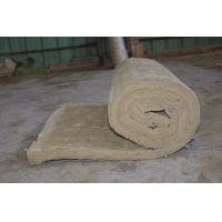 Buy cheap Residential Rockwool Insulation Blanket With Wire Mesh / Fiberglass Cloth product