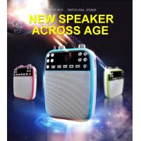 Buy cheap Multifunctional professional voice amplifer speakers with USB/TF/SD Card Audio Playing for speaker systems, SLR camera product
