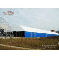 Buy cheap 20m by 100m Steel Frame White PVC Waterproof Large Storage Tents for Semi-permanent Structure from Wholesalers