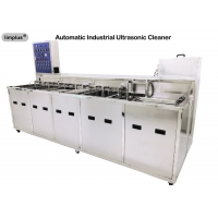 Buy cheap Multi Tank Industrial Ultrasonic Cleaner Machine with Rinsing Drying System for Oil Degrease product