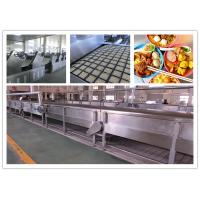 Buy cheap CE ISO SGS Instant Noodle Making Machine , Automatic Noodle Machine Stainless Steel product