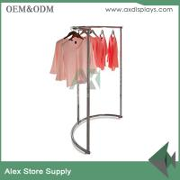 Buy cheap Clothing display ideas cabinet rack clothes rack women store clothing plus size shop decoration product
