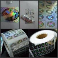 Buy cheap security sticker,hologram sticker,hologram label,security label product