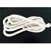 Buy cheap Wall Braided Ceramic Fiber Heat Resistant Insulation Rope High Temperature 6 - 50mm product