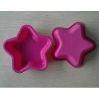 Buy cheap Nontoxic Heat Resist Silicone Baking Moulds , Recycled Star Mini Cake Molds product