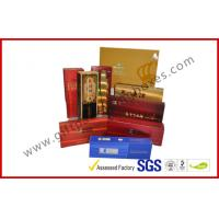 Buy cheap Rectangle Handmade Rigid Board Cigar Gift Boxes , Custom 157g Coated Paper E Cigar Packages product