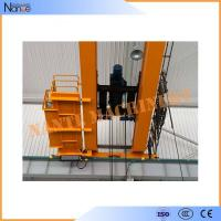 Buy cheap 10 ton / 50 ton Dual Rail Electric Wire Rope Hoist Heavy Duty Winch Trolley product