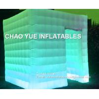 China LED Lighting Inflatable Air Tent 210D Oxford Fabric Material For Family Party on sale