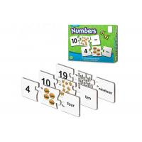 China Magnetic Activity Set Rubber Magnet Jigsaw Puzzles board for kids Math Learning on sale
