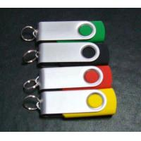 China Swivel USB Flash Drive,Imprint Logo or Full Color Available on sale