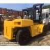 used diesel 2012 model 15ton komatsu forklift truck FD150E-7 low work hrs widely for sale