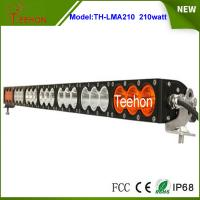 """Buy cheap 37.9"""" 168000lm amber led light bar single row multi color led light bar for off-road product"""