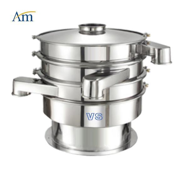 Quality Multi Purpose Vibro Sifter Machine , Automatic Vibrating Screen Machine 1-3 Layers for sale